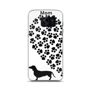 Dachlove.com Samsung Phone Cases Dachshund Heart, Cases- Dachshundloversonline  brings together dachshund merchandise, original and unique designed sausage dog gifts, accessories from all around the world.  The perfect addition to your dachshund loving home.  Find it in one store where you can buy them online and free shipping worldwide to your doorstep.