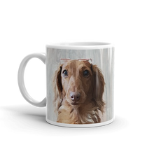 Load image into Gallery viewer, Dachlove.com Customized photo mug, Custom Items- Dachshundloversonline  brings together dachshund merchandise, original and unique designed sausage dog gifts, accessories from all around the world.  The perfect addition to your dachshund loving home.  Find it in one store where you can buy them online and free shipping worldwide to your doorstep.
