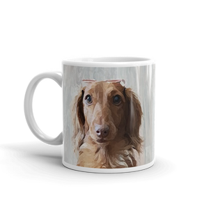 Dachlove.com Customized photo mug, Custom Items- Dachshundloversonline  brings together dachshund merchandise, original and unique designed sausage dog gifts, accessories from all around the world.  The perfect addition to your dachshund loving home.  Find it in one store where you can buy them online and free shipping worldwide to your doorstep.