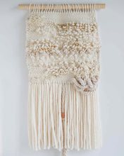 Cream and Gold Weaving
