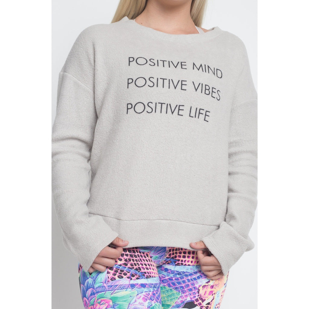 """Positive Mind"" Sweater"