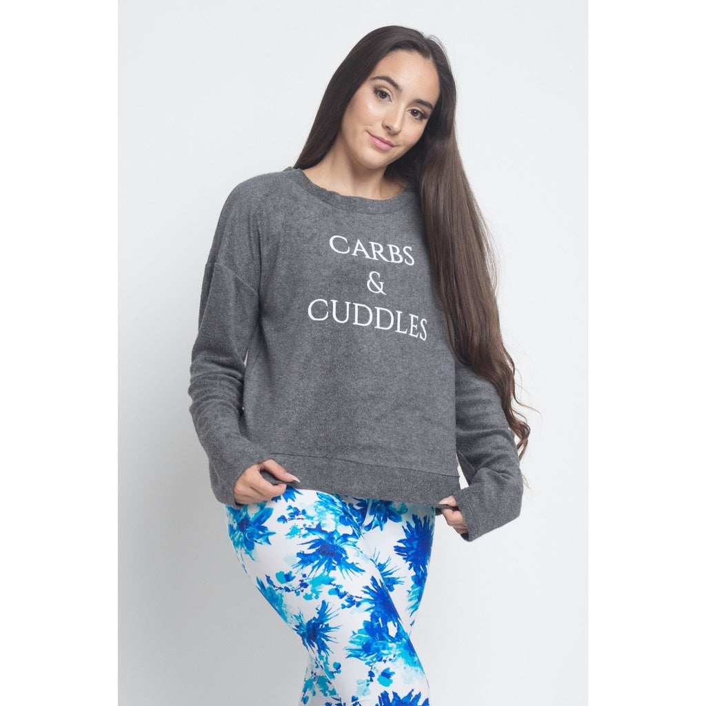 """Carbs & Cuddles"" Sweater"