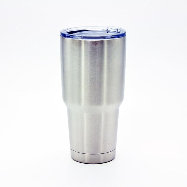 20/30 Oz Stainless Steel Tumbler Large Double Wall Beer Cooler Cup Vacuum Insulated Coffee Mugs Travel Car Drinkware