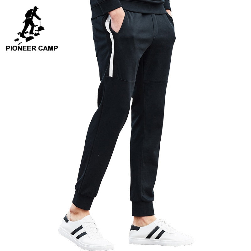 Pioneer Camp sweat pants men brand clothing autumn spring male sweatpants top quality black men joggers trousers AZZ701004