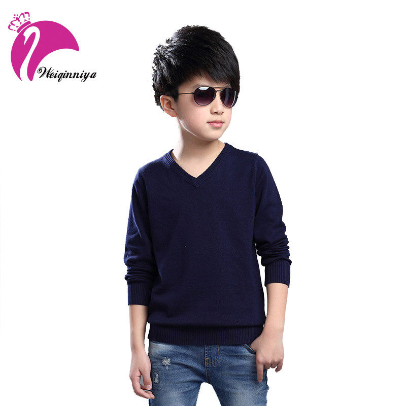 Spring Kids Boys Clothes New Brand Knitting Kids Sweaters and Cardigans Fashion Children Thick Cotton Sweater Boy Knited Sweater