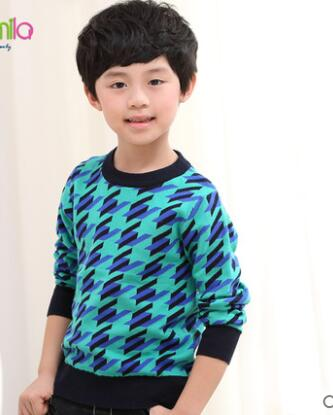 2018 autumn children's clothes boys sweaters causal stand collar thicken cotton boy knitted cardigan sweaters for boys big kids