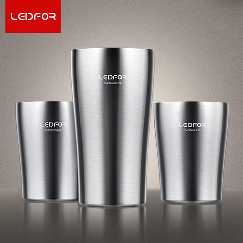 2018 Coffee Mug Milk Bottle Insulated Beer  Stainless Steel Thermoses Vacuum Flask Thermal Metal Cup Coffee Thermos Mugs
