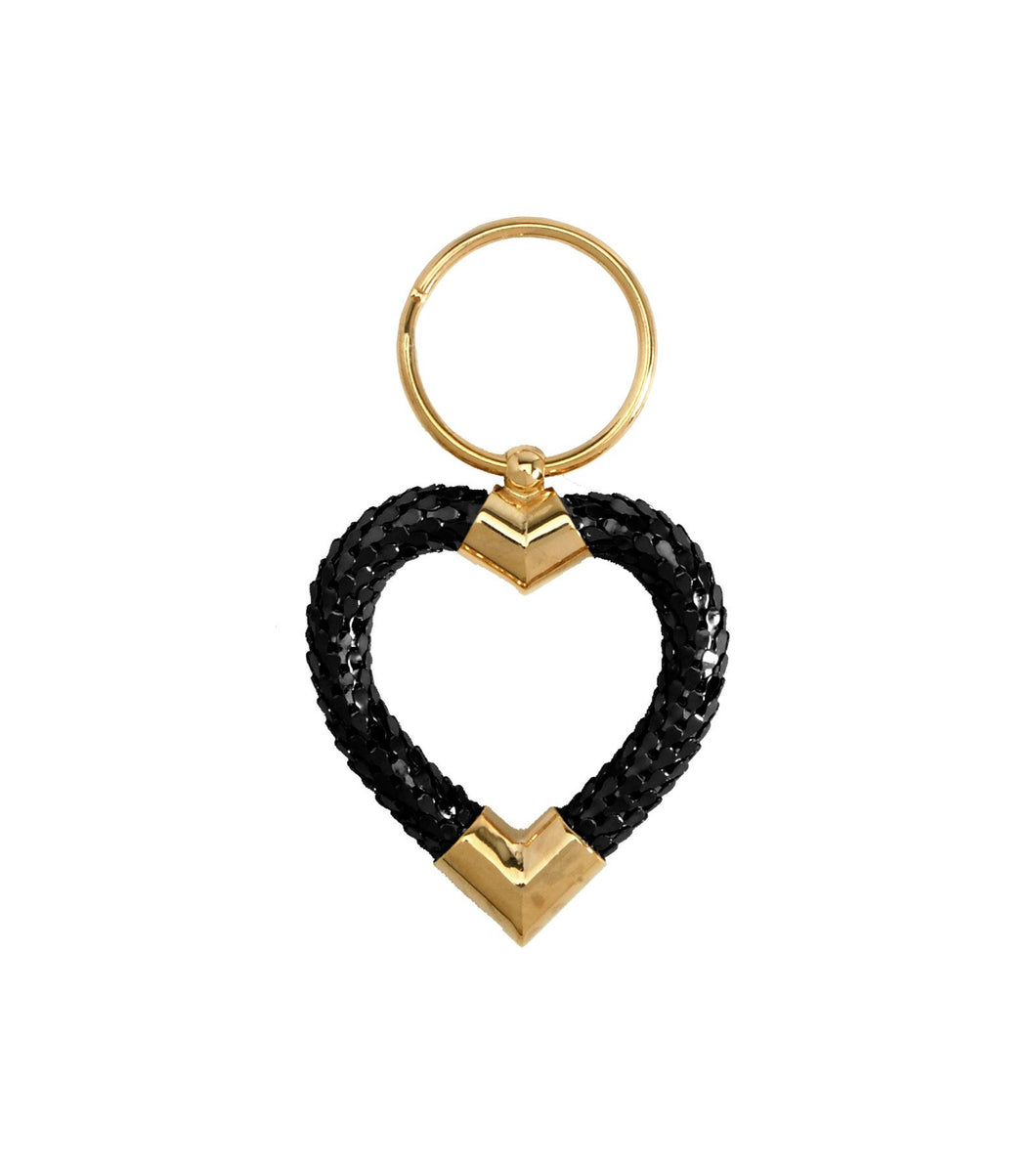 Classic Heart Key Ring