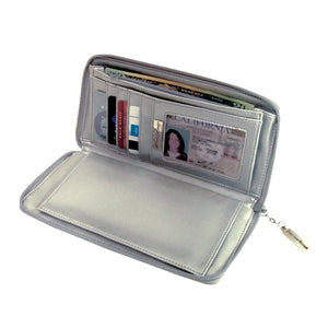 Clutch Wallet with Checkbook Insert