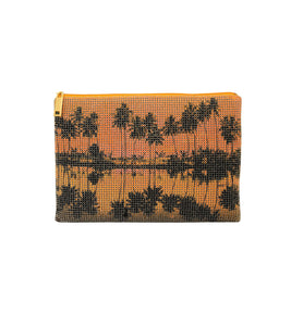 Palms Pouch Clutch