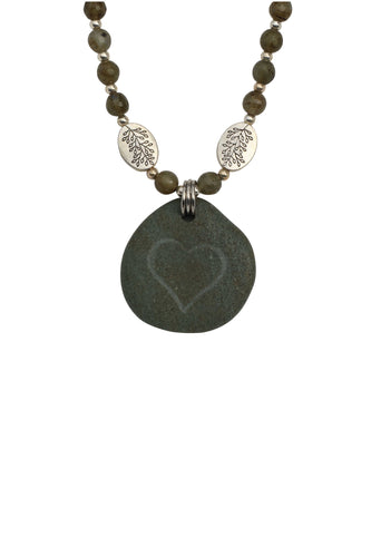 The River Heart Necklace