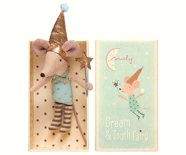 Maileg Mouse Boy Dream & Tooth Fairy in Box