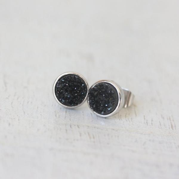 Cloud Nine Creative Sparkle Stud - Black