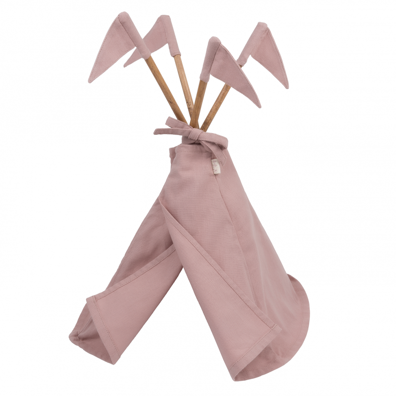 Numero 74 Doll Tipi Tent - Dusty Pink