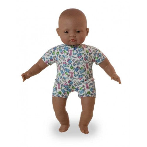 Miniland Soft Bodied Hispanic Latin Baby Doll 40cm