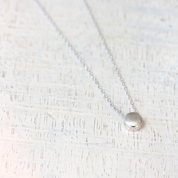 Cloud Nine Creative Dot Necklace - Silver