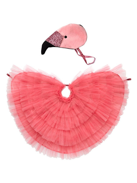 Meri Meri Flamingo Cape Dress Up