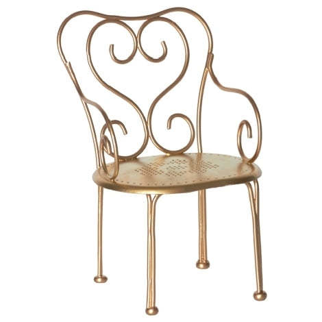 Maileg Gold Vintage Chair