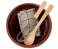 Maileg Utensils & Mixing Bowl