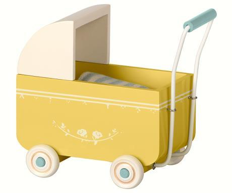 Maileg Pram for My Baby - Yellow