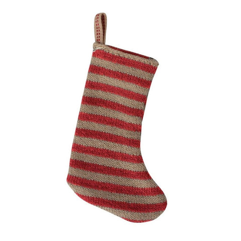 Maileg Miniature Christmas Stocking - Red Sand