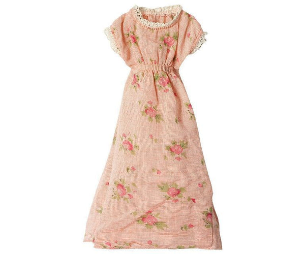 Maileg Outfit - Flower Dress Pink Mega