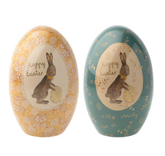 Maileg Easter Egg Tin - Blue