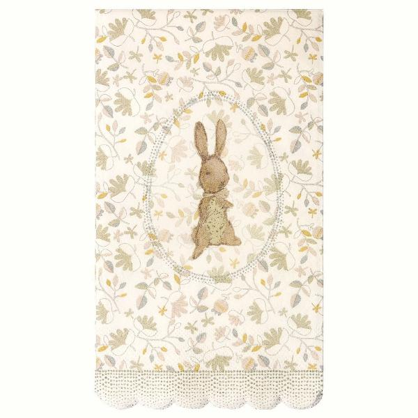 Maileg Romantic Bunny Napkins 16 Pack