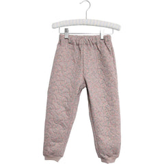 Wheat Thermo Pants Alex (Size 3 & 4 Yr) - Flower