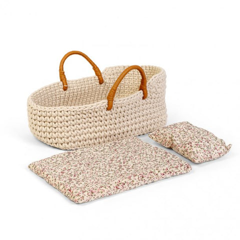 Astrup Doll Basket & Bedding Set 50cm