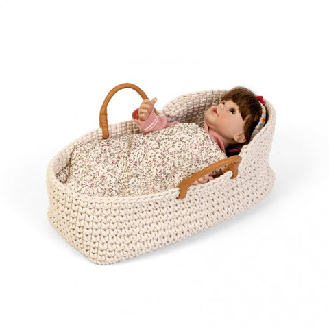Astrup Doll Basket & Bedding Set 35cm