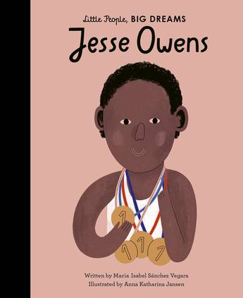Little People Big Dreams - Jesse Owens Hard Cover