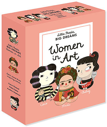 Little People Big Dreams Women In Art Box Set of 3 Books