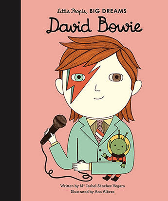 Little People Big Dreams - David Bowie Hard Cover