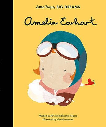 Little People Big Dreams - Amelia Earhart Hard Cover