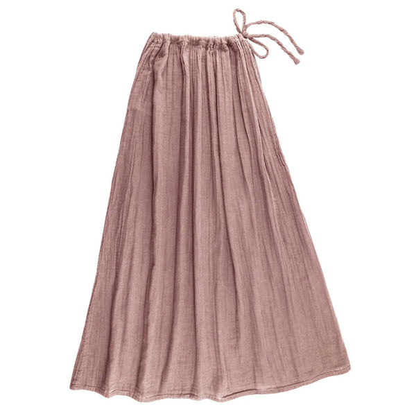 Numero 74 Womens Ava Long Skirt - Dusty Pink