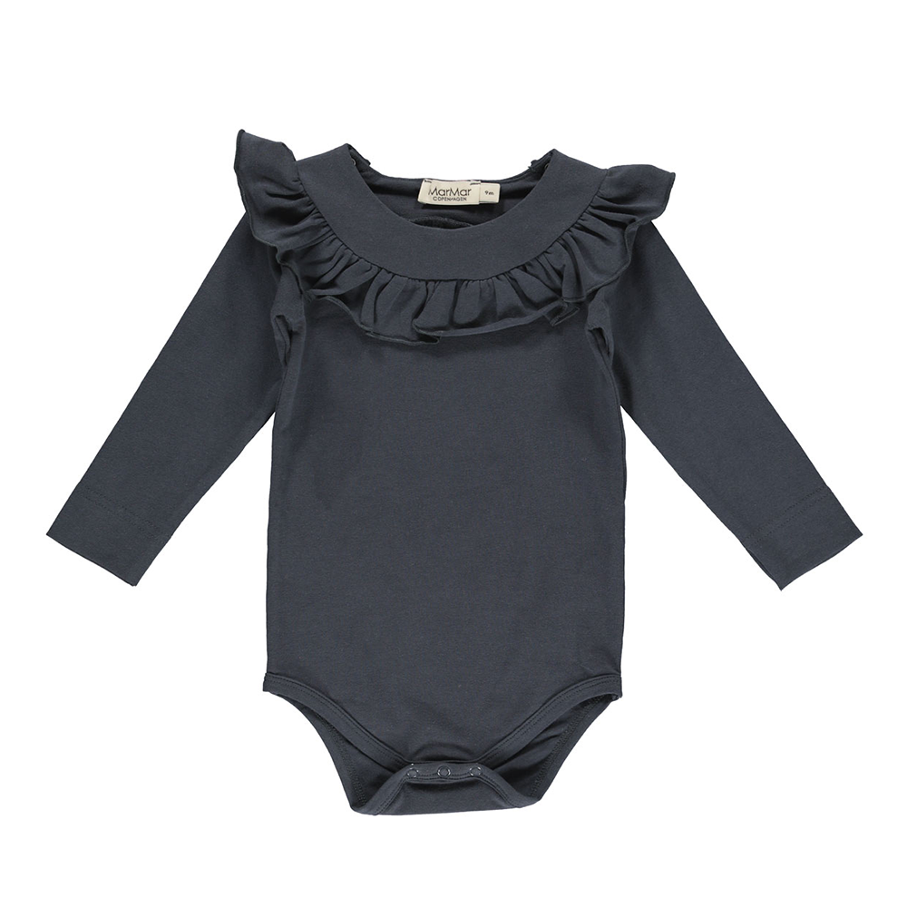 MarMar Copenhagen Bibbi Body Suit - Night Sky Blue