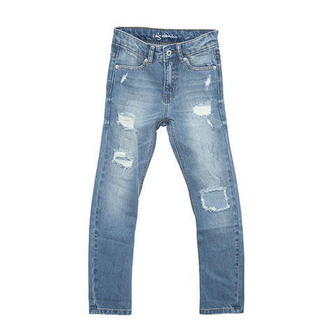 I Dig Denim Brent Jeans - Unisex Worn Blue