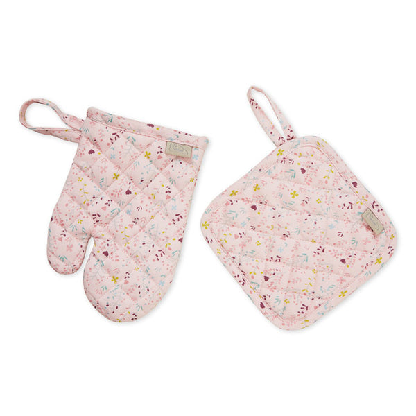 Cam Cam Copenhagen Kids Pot Holder & Oven Glove - Fleur
