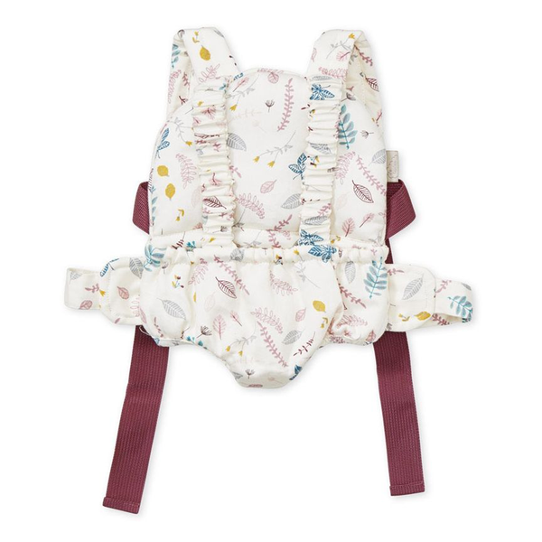 Cam Cam Copenhagen Doll's Carrier Front Pack - Pressed Leaves Rose