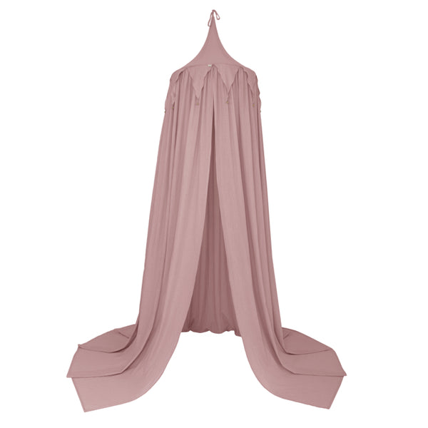 Numero 74 Circus Bunting Canopy - Dusty Pink