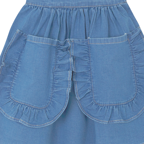 Yellowpelota Folklore Skirt - Original Denim