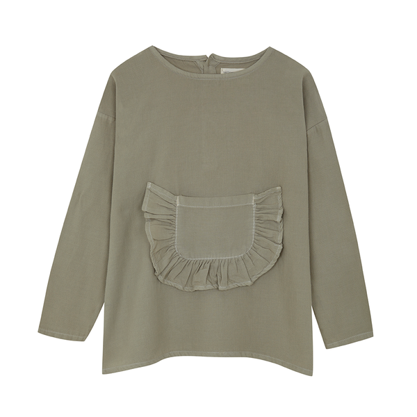 Yellowpelota Folklore Wool Blouse