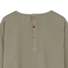 Yellow Pelota Folklore Wool Blouse