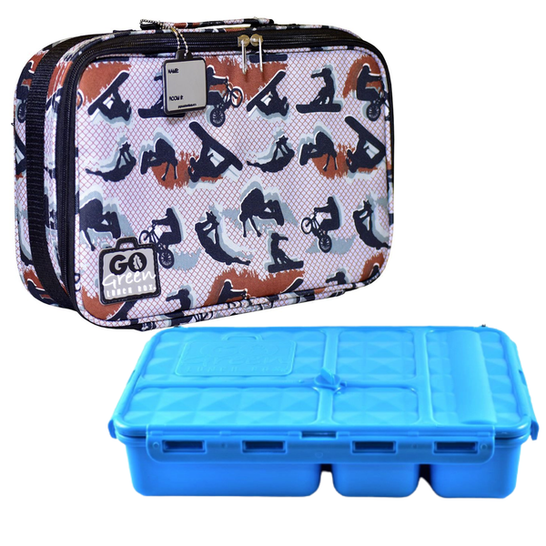 Go Green Lunchbox Complete Set - Extreme Blue