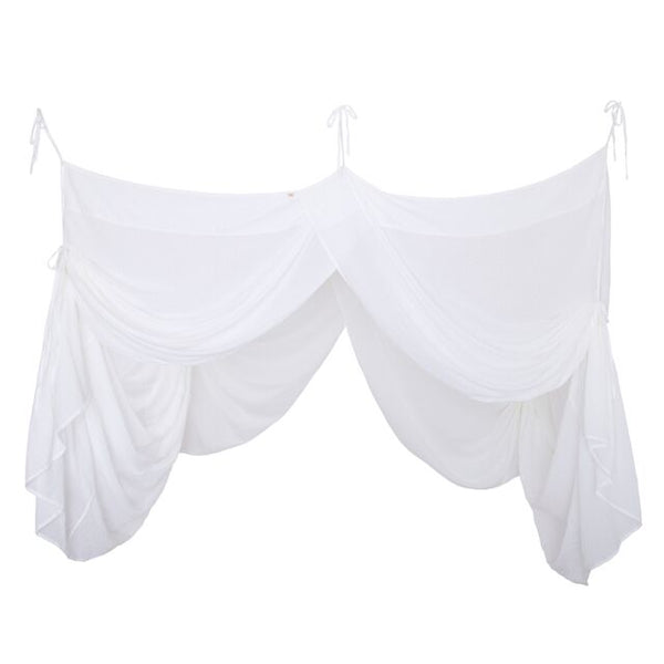 Numero 74 Bed Drape Single - White