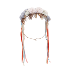 Yellow Pelota Headress