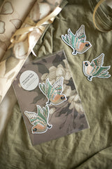 Mrs Mighetto 2 Pack Patches - Flying Sparrow