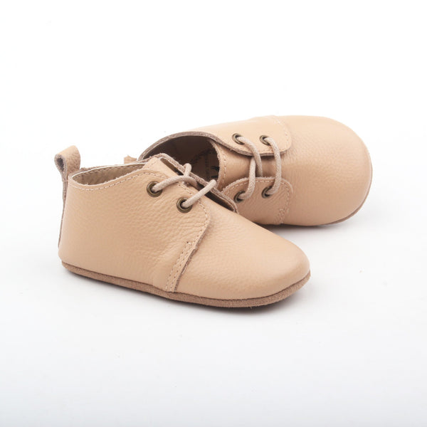 Deer Grace XO Baby Oxfords - Sand