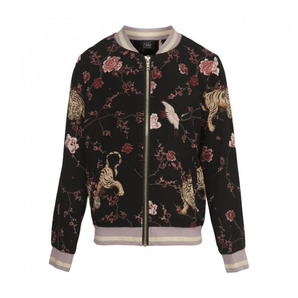Petit by Sofie Schnoor Jacket - Black Flower